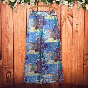 🆕 Flaire Wide Leg Bohemian Hippie Pants